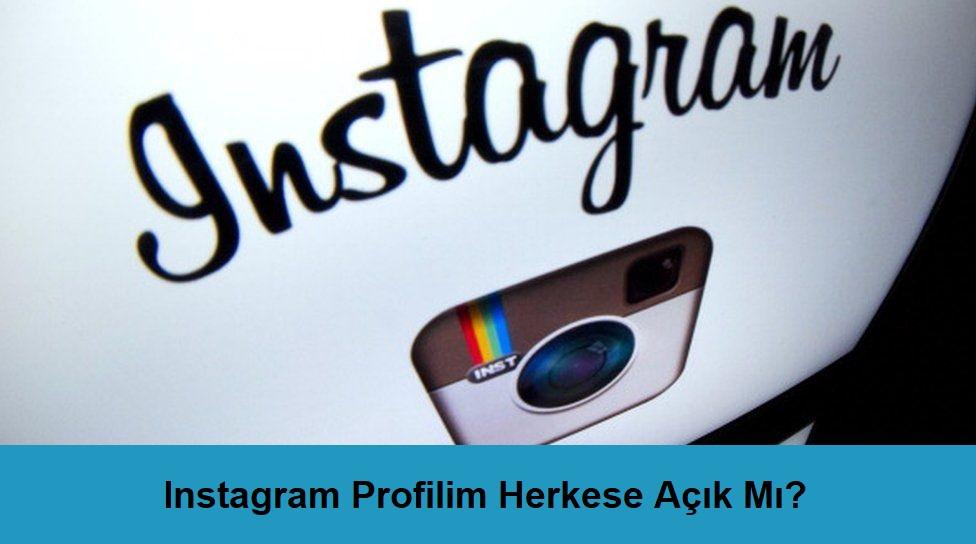 instagram profil nasıl gizlenir
