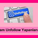 instagram unfollow yapanları bulma