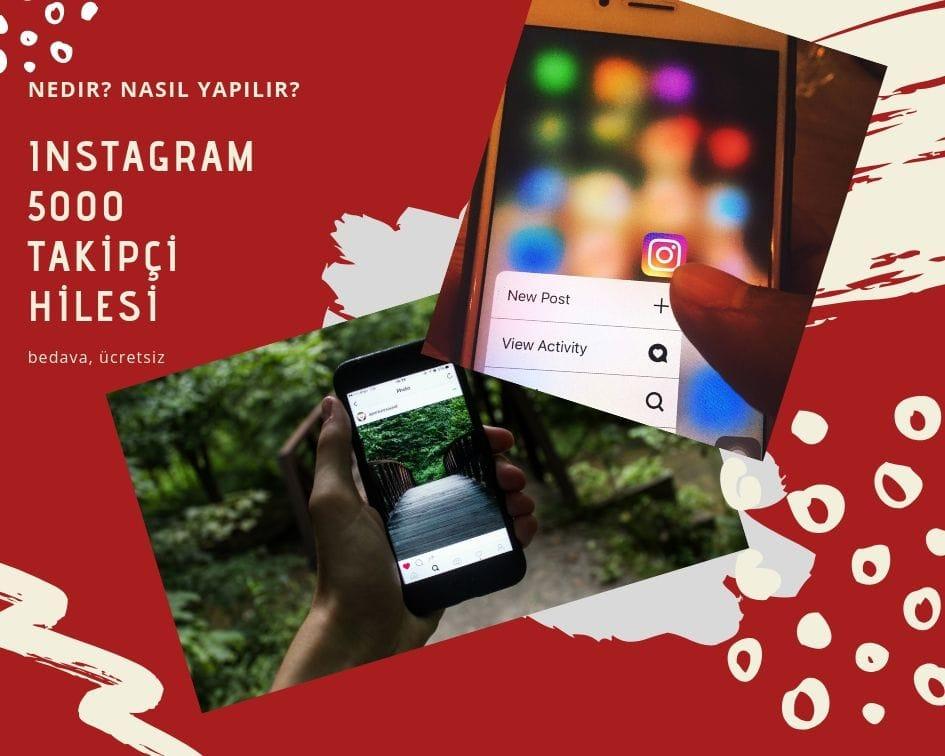 instagram 5000 takipçi
